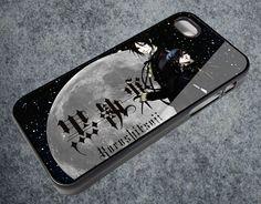 black butler khuroshirsuji for IPhone Case Apple Phone iPhone 4 4S Case Cover AR_465