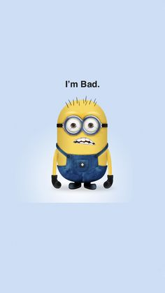 This post was inspired by the awesome Despicable Me cartoon. I adore these minions! They are so cute and funny. Below you'll find some cool tutorials on how to create a minion character in Photoshop and Illustrator. Amor Minions, Minions Quotes, Bad Minion, Cute Minions, Minions Despicable Me, Minion Humor, Funny Minion, Minion Dave, Happy Minions