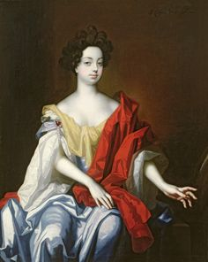 Portrait of a lady said to be Nell Gwynne By Simon Pietersz Verelst