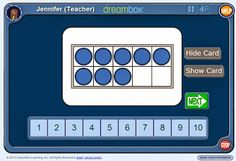 Early Number Sense Interactive Websites {freebie}