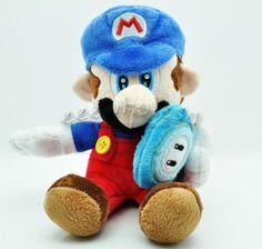 Super Mario Smash Bros, Mario Toys, Sonic Birthday, Video Game Companies, Princess Daisy, Super Mario World, Mario Party, All Games, Plush Dolls