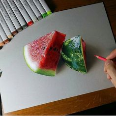 Feb 2020 - Italian artist Marcello Barenghi ( draws incredibly realistic everyday objects that appear almost three dimensional with… Colored Pencil Artwork, Pencil Art Drawings, Color Pencil Art, Art Drawings Sketches, Horse Drawings, Colored Pencils, Doodle Art Drawing, Food Drawing, Drawing Ideas
