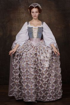 Elisabeth i. von England Kostüm set England aus dem 16.