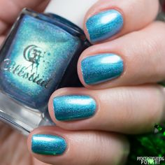 Celestial Cosmetics - SantaMental Collection Santa Only Comes Once A Year Treat Yourself, Swatch, Nail Polish, Cosmetics, Celestial, Nails, December, Santa, Beauty