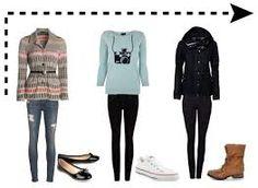 Resultado de imagem para roupas de frio para ir a escola