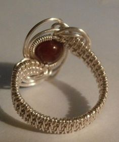 Perfectly Twisted Handmade Wire Wrapped Beaded and Gemstone Jewelry Wire Jewelry Rings, Wire Jewelry Designs, Handmade Wire Jewelry, Beaded Jewelry, Wire Bracelets, Beaded Rings, Earrings Handmade, Gemstone Jewelry, Wire Jewelry Making