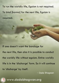 Know more about the charge and discharge of karma from an Enlightened One : http://www.dadabhagwan.org/scientific-solutions/spiritual-science/the-science-of-karma/who-controls-karma-/
