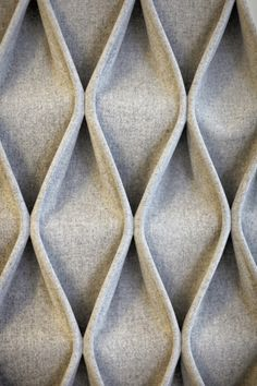 CABLE Fabric decorative acoustical panels by Anne Kyyrö Quinn design Anne Kyyrö Quinn