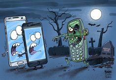 Night of the living #Nokia3310. La Notte dei #Nokia3310 viventi.
