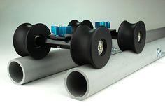 4 Wheels for DIY Camera Dolly Rig Slider Track Table Skater U Groove Bearings 6933996115974 | eBay