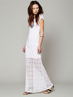Nightcap Dreamcatcher Open Back Maxi Dress at Free People Clothing Boutique I want for my honeymoon!!!