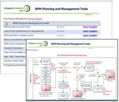 Program Management Process Templates | BPM Program Management and Planning Toolkit