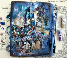 Mixed Media Place: October 2016 - project by DT member - Sylwia Gryczuk