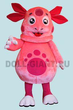 Кукла Розовый зверь