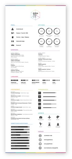 25 Examples of Creative Graphic Design Resumes Graphic design - graphic design resumes examples
