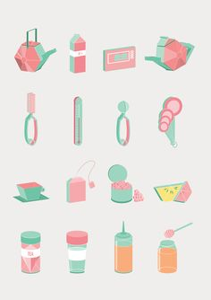 Tea-Hee Book by Jiani Lu, via Behance
