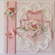Rose Trellis Cards Kit