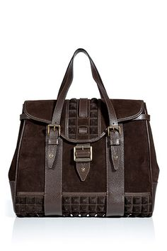 STYLEBOP.com | MahoganySuedeKentTotebyBELSTAFF | the latest trends from the capitals of the world