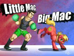 Little Mac vs Big Mac by Tsitra360 on @DeviantArt