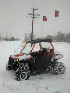snow not bound Rzr