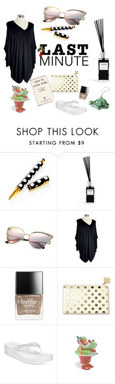 """""""Last Minute Christmas Gifts"""" by ante-panda ❤ liked on Polyvore featuring Henri Bendel, Welton, Butter London, Kate Spade, Callisto, plussize, Australia, oceanica and Kobomo"""