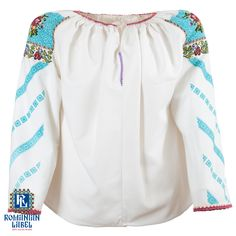 $204 You can carry the vintage traditional blouse on your body, but most of all, carry it in your soul. Unique Vintage, Carry On, Blouses, Traditional, How To Wear, Tops, Women, Fashion, Moda