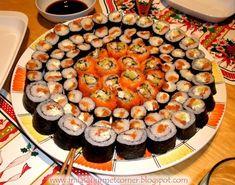 Всё о еде...: Суши Japanese Sushi, Food Porn, Ethnic Recipes, Ideas, Oriental Food, Pisces, Thoughts, Treats