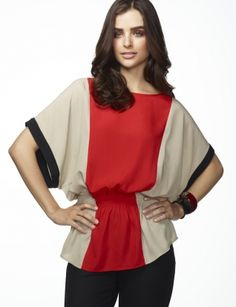 #Limited Colorblock Top $54.90