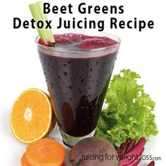 This delicious recipe includes beet and greens but also some other popular cleansing ingredients such as lime, celery and carrots.