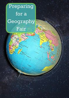 Our Unschooling Journey Through Life: Preparing for a geography fair