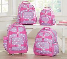 Mackenzie Lavender Hearts Backpacks #pbkids