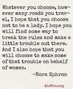 Nora #Famous Quotes| http://famousquotecollections.13faqs.com