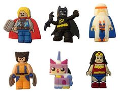 Lego Movie Shoe Charms 6 Pcs Set 7 *** Continue to the product at the image link.