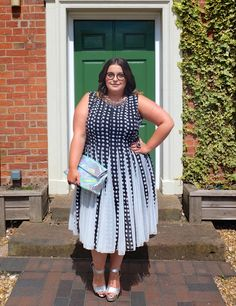 Plus Size Fashion - Plus Size Outfit - Danielle Vanier: Spotty Dotty