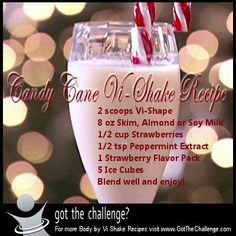 Body by Vi Shake Recipe - Candy Cane | Got The Challenge