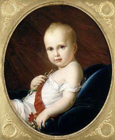 Portrait du Roi de Rome (Napoleon's Son) by Francois Gerard