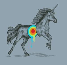 Unicorn!! Rainbow Unicorn!!