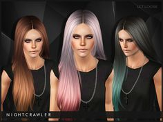 Let Loose hair by Nightcrawler - Sims 3 Downloads CC Caboodle