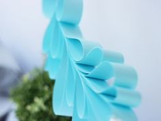 DIY paper leaf garland #succah #succot #party #decoration סוכות