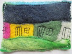 Latest Totally Free Textile art felt Tips textile art, felt aceo, artists cards, quirky houses Artist Card, Handmade Felt, Image Shows, Textile Art, Things To Come, Textiles, Colours, Throw Pillows, Houses