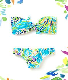 Lilly Pulitzer Bikini in Sea Soiree