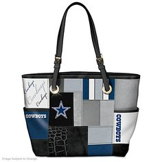For The Love Of Dallas Cowboys Tote Bag Purse