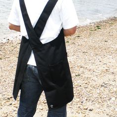 Rakuten: (limited to Japan) back cross apron black for spr10P05Apr13 men- Shopping Japanese products from Japan