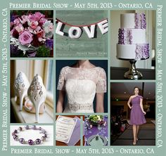 """Premier Bridal Shows' Spring bride expo serving the Inland Empire is less than a week away! With hundreds of wedding ideas and services to choose from, this event is a """"must do"""" for brides and grooms planning their weddings. Shop and compare photographers, caterers, bakeries (looking forward to see those cake samples) florists, wedding planners, venues, tuxedos, favors and so much more. Excitement abounds with a stunning fashion show featuring the latest in wedding couture al"""