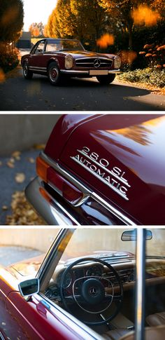Timeless. Flawless. Priceless. The Mercedes-Benz 280 SL. Photo by Peter Mosoni (http://mosoni.hu/).