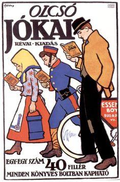 Imre Földes - Google Search Vintage Advertisements, Vintage Ads, Vintage Posters, Ad Art, Budapest, The Past, Novels, History, Hungary