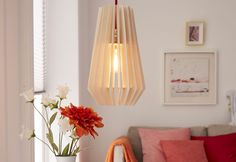 DIY Una lámpara de madera - Bricolaje - DecoEstilo.com