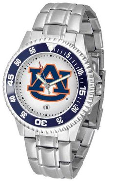 Auburn Tigers Competitor Steel Watch In Both Men or Ladies – Cooler Time