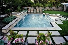 {Pool area via}
