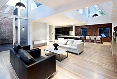 Funky Modern Interior Design Styles Modern Interior Design Of An Industrial Style Home In Melbourne in [keyword Industrial Interior Design, Apartment Interior Design, Contemporary Interior Design, Industrial Interiors, Modern House Design, Interior Design Living Room, Living Room Designs, Industrial Style, Room Interior